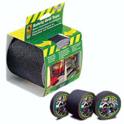 """Picture of Top Tape Gator Grip (R) Black 1"""" x 60' Safety Grit Tape RE141 04-0259"""