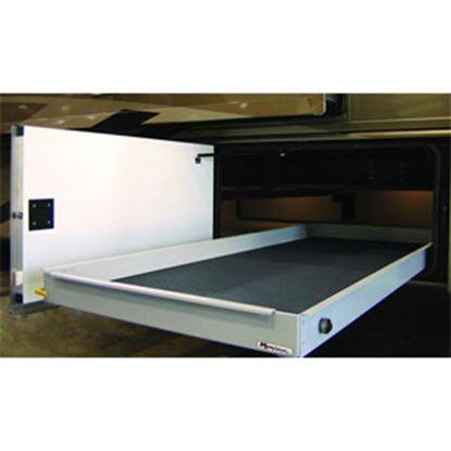 """Picture of MOR/ryde MOR/stor 800 lb Powder Coat 20"""" W x 90"""" D Cargo Slide w/Flooring CTG60-2090W 05-0473"""
