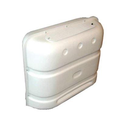 Picture of Icon  Polar White PE Double 20LB/30LB LP Tank Cover w/ Gas Valve Access 00386 06-0110