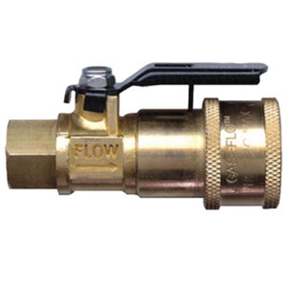 Picture of JR Products Gas Flow (TM) Straight Shut Off Valve 07-30435 06-0114