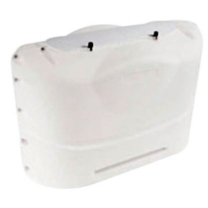 Picture of Camco  Polar White Polyethylene Double 20LB LP Tank Cover 40523 06-0300