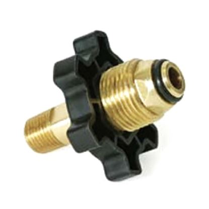 """Picture of Camco  Soft Nose Prest-O-Lite x 1/4"""" Male NPT Brass LP Hose Connector 59203 06-0830"""