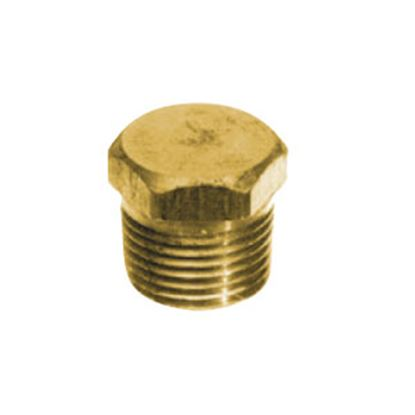 Picture of Anderson Metal LF 7121S Series Fitting Plug, Lead Free, 7121S 1/2 Solid Hex 706125-08 06-9208