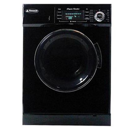 """Picture of Pinnacle  110VAC 23-1/2""""W Black 13LB Clothes Washer/Dryer Combo Unit 18-4400 B 07-0071"""