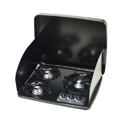 Picture of Dometic  Black Steel Stove Top Cover For Wedgewood Vision 2B Drop-In Cooktops 56458 07-0269