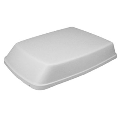 """Picture of Icon  Aerodynamic Polar White 40.5""""L Shroud For Dometic Air Conditioner 01914 08-0009"""