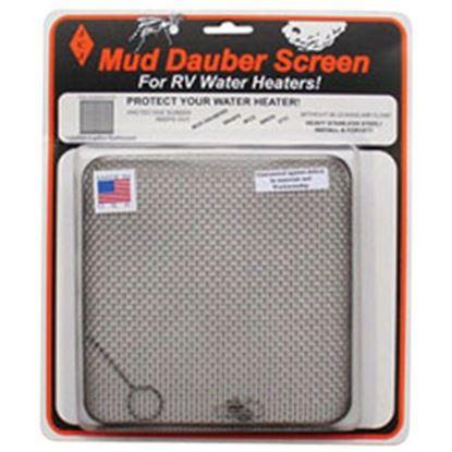 Picture of JCJ Enterprises Mud Dauber Screen Square SS Bug Screen For Suburban 6 Gal Water Heaters W-600 08-0256