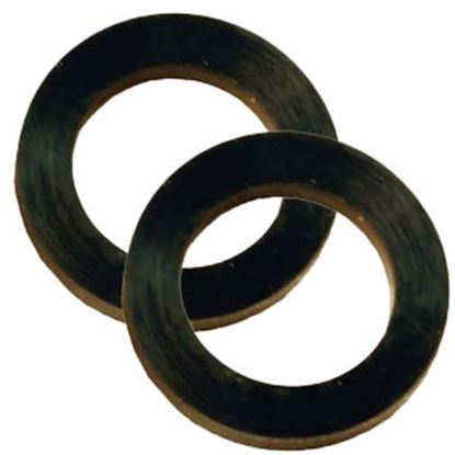 Picture of JR Products  2-Pack Black Shower Hose Washer QQ-WASH-A 10-0040