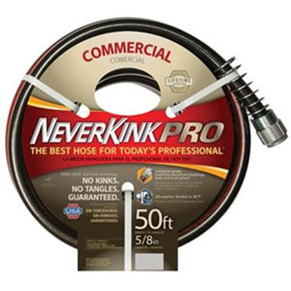 "Picture of Apex NeverKink (R) Pro 5/8""x50' Fresh Water Hose w/Crush Proof Aluminum Coupling 8844-50 10-0174"