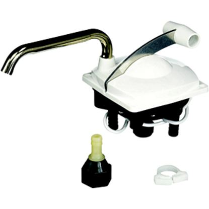 Picture of Leisure Components  Colonial White Low Hand Pump 131-4 10-0215