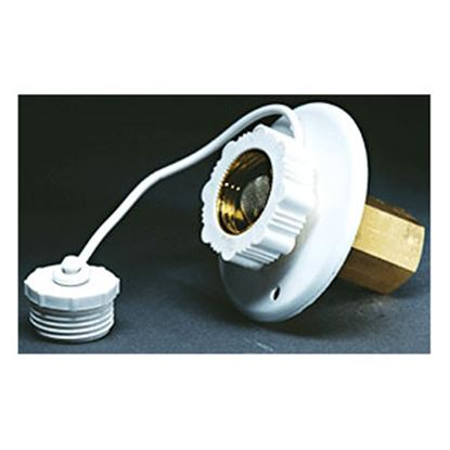 Picture of Aqua Pro  Polar White Surface Mount Flange Fresh Water Inlet 27881 10-0677