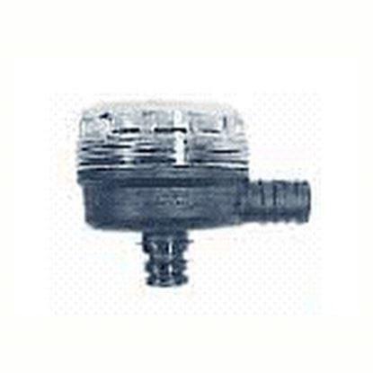 "Picture of Flojet  1/2"" Hose Barb x Quad Port 90 Deg Fresh Water Pump Strainer For Flojet 01740012A 10-0716"