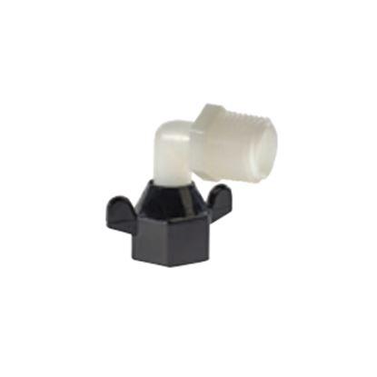 "Picture of SHURflo  Nylon 1/2""-14 FNPT x 1/2"" Barb Fresh Water Hose Elbow 244-3926 10-0927"