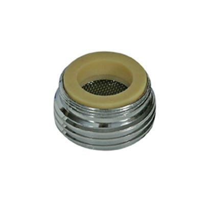 Picture of Camco  Brass Faucet Hose Adapter For Male & Female Faucet Threads 40083 10-1496