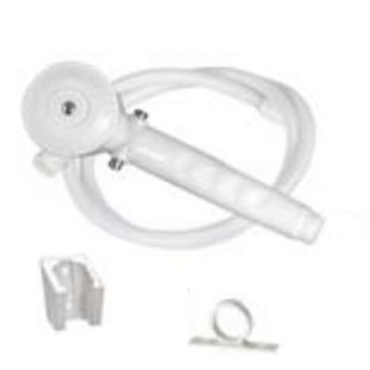 "Picture of Phoenix Faucets  Biscuit Handheld Shower Head w/Single Spray Setting & 60"" Hose PF276025 10-1507"