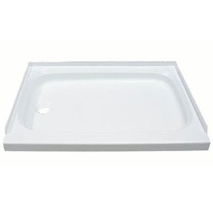 "Picture of Better Bath  Parchment 24""x 36"" Rectangular Left Hand Drain Shower Pan 342922 10-1767"