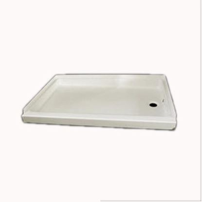 """Picture of Specialty Recreation  Parchment 24""""x 40"""" Right Hand Drain Shower Pan SP2440PR 10-1840"""