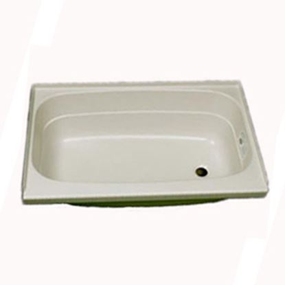 "Picture of Specialty Recreation  Parchment 24""x32"" RH Drain ABS Bathtub BT2432PR 10-1853"