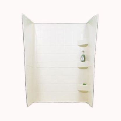 "Picture of Specialty Recreation  Parchment 24"" x 38"" x 66"" Shower Surround SW2438P 10-1916"