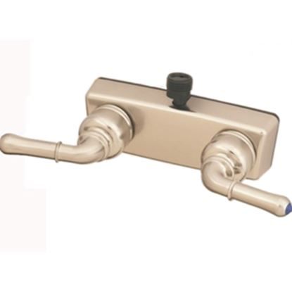 """Picture of Empire Brass  4"""" Nickel Plated Plastic Shower Valve w/Teapot Handles X-YNN53VBN 10-2382"""