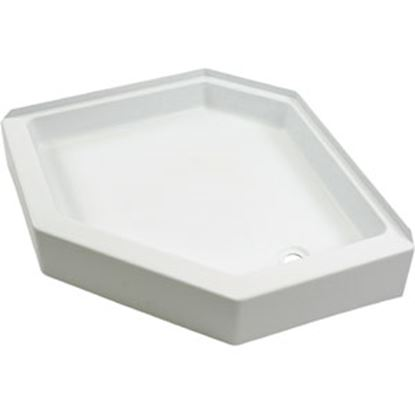 """Picture of Better Bath  White 32""""x32"""" Neo-Angle RH Drain Shower Pan 209744 10-5720"""