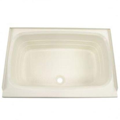 """Picture of Better Bath  Parchment 24""""x40"""" Center Drain ABS Standard Bathtub 209385 10-5733"""