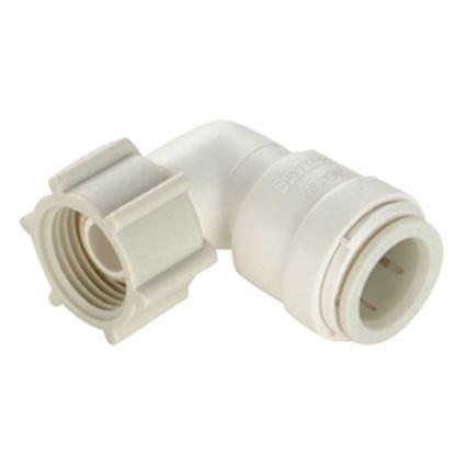 "Picture of Sea Tech 35 Series 1/2"" Female QC Copper Tube x 1/2"" FNPS Swivel Nut Off-White Polysulfone Fres 013520-1008 10-8171"