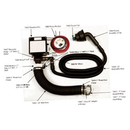 Picture of Thetford Sani-Con Black 21' Sewer Hose 70424 11-0692