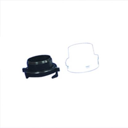 """Picture of Barker  Black 3"""" & 3/4""""FGH Screw-On Portable Waste Tank Cap 11057 11-0755"""