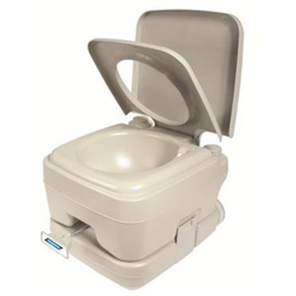 Picture of Camco  2.5 Gal Beige Portable Toilet 41531 12-0221