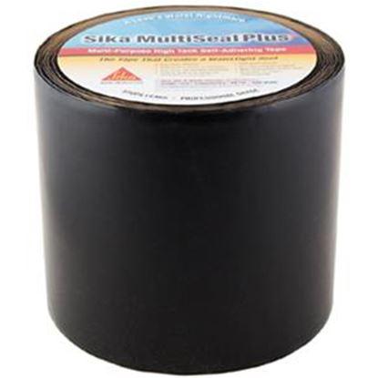 "Picture of Sika Multiseal Plus Black 6"" x 50' Roll TPO Roof Repair Tape 017-404096 13-0037"