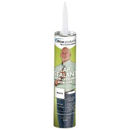 Picture of Dicor  Dove White 10.3 Oz Tube Non-Sag Roof Sealant 551LSD-1 13-0073