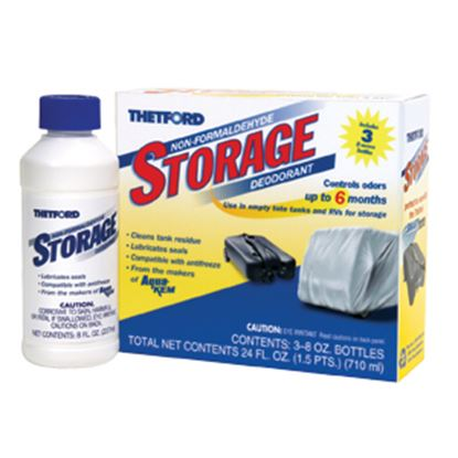 Picture of Thetford  3-Pack 8 Oz Bottle Holding Tank Treatment w/Deodorant 32900 13-0202