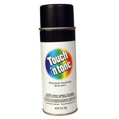 Picture of DAP Touch N Tone 10Oz Gloss Black Spray Can Paint 003-55276 13-0535