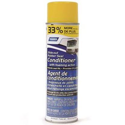 Picture of Camco  16Oz Aerosol Slide Out Seal Conditioner w/English/French Package 41130 13-1262