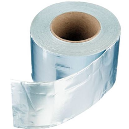 "Picture of Dicor  4"" x 50' Roll Aluminum Foil Roof Repair Tape 522AF-450-1C 13-1303"