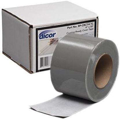 "Picture of Dicor  4"" x 50' Roll Coating Ready Roof Repair Tape RP-CRCT-4-1C 13-1307"