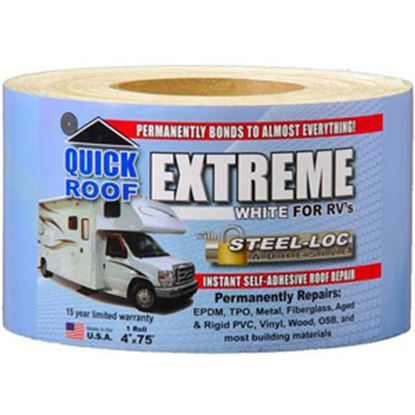 """Picture of Quick Roof  4"""" x 75' Roll Roof Repair Tape UBE475 13-1601"""