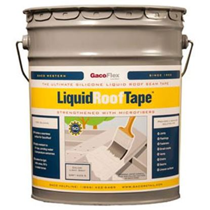 Picture of Heng's LiquidRoofTape (TM) Light Gray 5 Gal Roof Sealant HGRF1625 - 5 13-1881