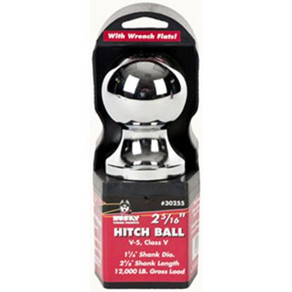 "Picture of Husky Towing  2-5/16"" Trailer Hitch Ball w/ 1-1/4"" Diam Shank 30255 14-1050"
