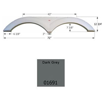 Picture of Icon  Dark Grey Tandem Axle Fender Skirt For Various Dutchmen Brands 01691 14-1567