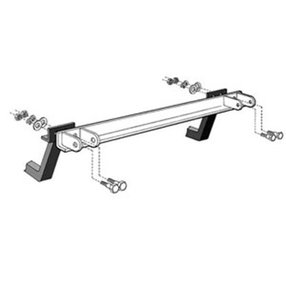 Picture of Roadmaster  Reese/Valley/Eaz-Lift/Draw-Tite/Husky to Roadmaster Tow Bar Adapter 025 14-2707