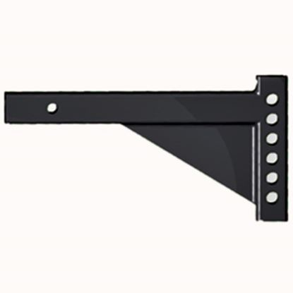 """Picture of Equal-i-zer  18""""L x 8"""" Rise x 4"""" Drop Weight Distribution Hitch Shank 90-02-4600 14-2934"""