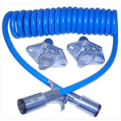 Picture of Blue Ox  6-Wire 7' Trailer Connector Extension BX8862 14-5262