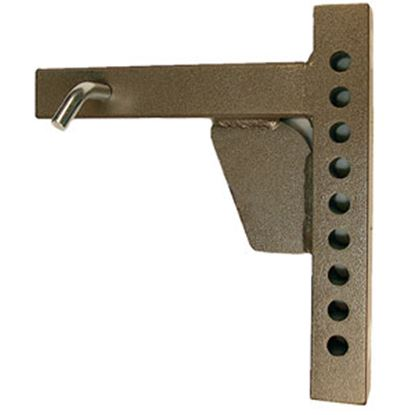 """Picture of Blue Ox  11""""L Weight Distribution Hitch Shank w/ 9 Mounting Holes BXW4002 14-5272"""