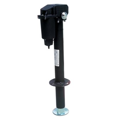 Picture of Ultra-Fab Ultra 3502 Black 3500 Lb Electric Round Trailer Jack 38-944017 15-0146