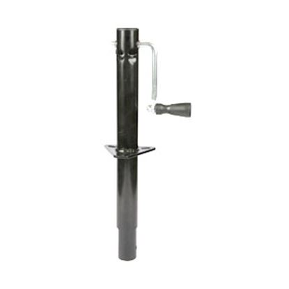 Picture of Ultra-Fab  Black 2000 Lb A-Frame Round Sidewind Trailer Jack 49-954031 15-0420