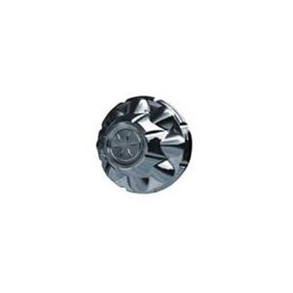 """Picture of Dicor VersaLok Single 5-1/2"""" Chrome Plated ABS Plastic 6-Lug Wheel Cover TAC655-C 17-0107"""