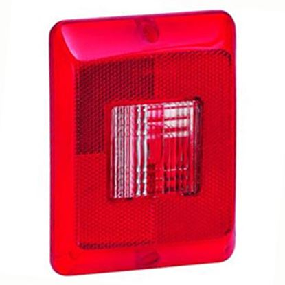 Picture of Bargman  Horizontal Tail Light Lens For Bargman 84/ 85/ 86 Series 34-84-700 18-0075