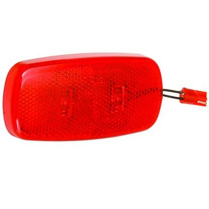 Picture of Bargman  Red Side Marker Light Lens For Bargman 59 Series 47-59-410 18-0176
